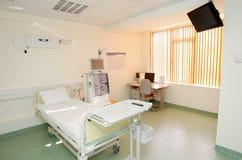 stanza privata interna dell'ospedale Fotografie Stock Libere da Diritti
