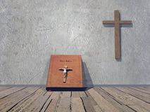 Stanza religiosa - 3D rendono Immagine Stock Libera da Diritti