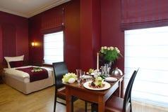 stanza romantica dell'hotel Immagine Stock Libera da Diritti