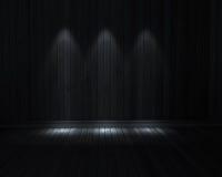 Stanza scura Fotografie Stock Libere da Diritti