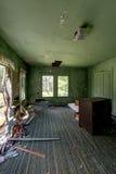 Stanza sprofondante - hotel abbandonato & campo religioso Fotografie Stock