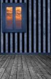Stanza a strisce Fotografia Stock Libera da Diritti
