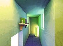 stanza surreale dell'impressionista Immagine Stock Libera da Diritti