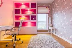 Stanza in tonalità del rosa Fotografia Stock Libera da Diritti