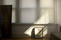 Stanza vuota al crepuscolo Fotografia Stock