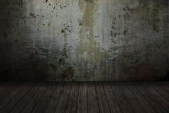 Stanza vuota del grunge Fotografia Stock Libera da Diritti