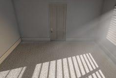 Stanza vuota di luce solare di mattina Fotografie Stock Libere da Diritti