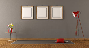 Stanza vuota minimalista royalty illustrazione gratis