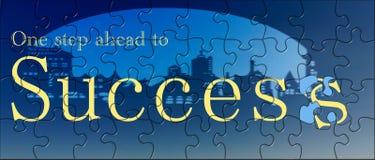 Stap aan succes Stock Foto's