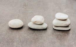 stap 123 met steen Stock Afbeeldingen