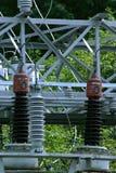 Stap - onderaan Transformatoren Royalty-vrije Stock Foto's