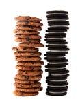 Stapel 1 van het koekje Stock Foto's