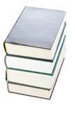 Stapel alte Bücher über Ansicht Lizenzfreies Stockbild
