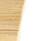 Stapel alte Bücher über Weiß Lizenzfreie Stockbilder