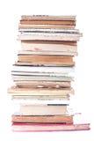 Stapel alte Bücher Stockfoto
