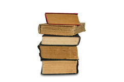 Stapel alte Bücher stockfotografie