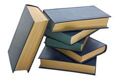 Stapel alte Bücher in den Abdeckungen Stockfotografie