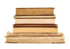 Stapel alte Bücher getrennt Lizenzfreies Stockfoto