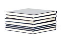 Stapel alte benutzte Bücher Stockfoto