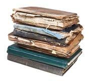 Stapel alte benutzte Bücher Lizenzfreies Stockfoto