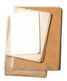 Stapel alte Papiere Lizenzfreies Stockfoto