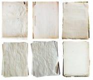 Stapel alte Papiere Lizenzfreie Stockbilder