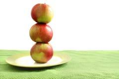 Stapel appelen Stock Fotografie