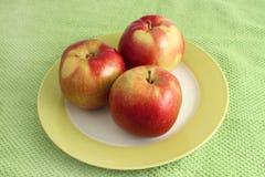 Stapel appelen Royalty-vrije Stock Foto's