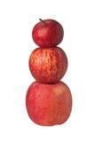 Stapel appelen Stock Afbeelding