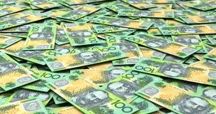 Stapel australische Dollar vektor abbildung