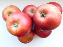Stapel av äpplen Royaltyfri Foto