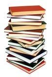 Stapel av böcker royaltyfri bild