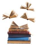 Stapel av böcker arkivbild