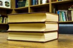 Stapel av böcker Royaltyfria Foton