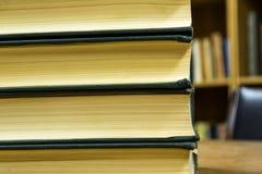 Stapel av böcker Fotografering för Bildbyråer