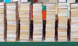 Stapel av böcker Arkivbilder