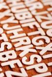 Stapel av bokstäver Fotografering för Bildbyråer