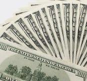 Stapel av dollar Royaltyfri Foto