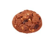 Stapel av isolerade choklad kaka Royaltyfri Fotografi