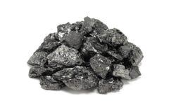 Stapel av kol arkivfoton