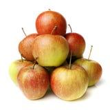 Stapel av äpplen Royaltyfria Bilder