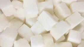Stapel av sockerkuber arkivfilmer