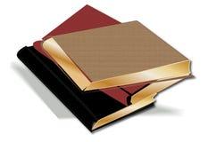 Stapel Bücher lizenzfreie abbildung