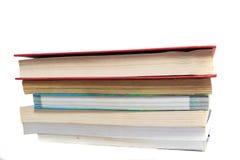 Stapel benutzte Bücher Lizenzfreie Stockbilder