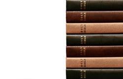 Stapel Bijbels 2 Royalty-vrije Stock Foto's