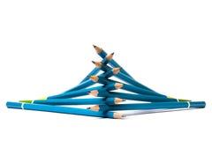 Stapel Bleistifte Stockbilder
