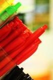Stapel Bleistifte im Speicher Stockbild