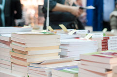Stapel boeken Royalty-vrije Stock Foto's