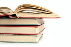 Stapel Boeken op Wit Stock Fotografie
