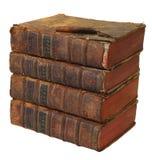 Stapel boeken van 18de sentery Stock Foto